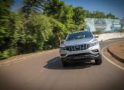 Mahindra Alturas G4 review action image cornering