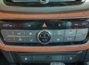 Mahindra Alturas G4 review electronic climate control detail