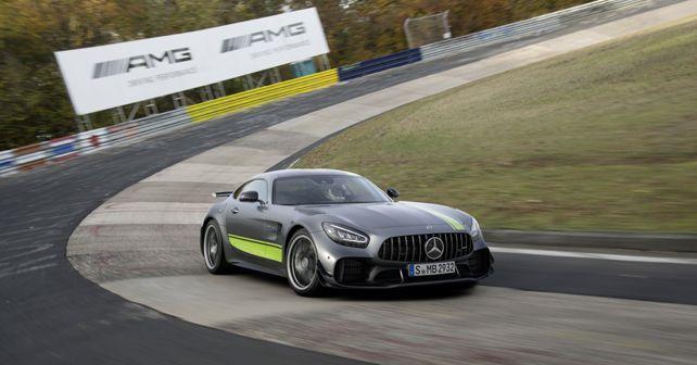 Mercedes AMG GT R Pro Front Quarter