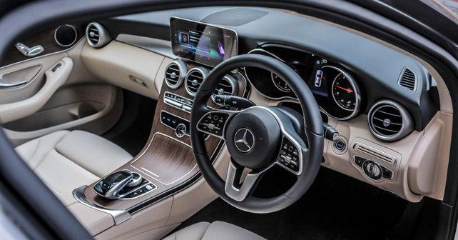 Mercedes Benz C Class Steering Wheel