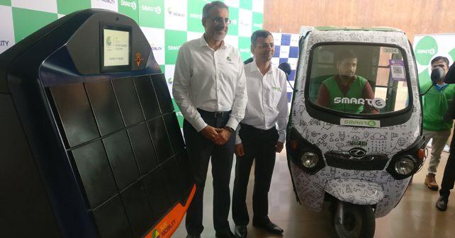 Sun Mobility And SmartE Partnership Delhi NCR