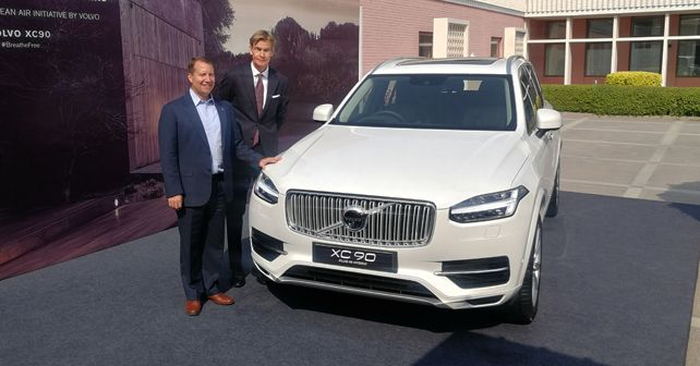 Volvo XC90 T8 Plug In Hybrid India Assembly