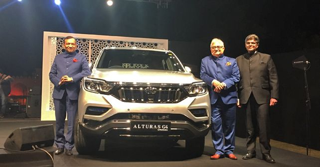 Mahindra Alturas G4 Launch Price