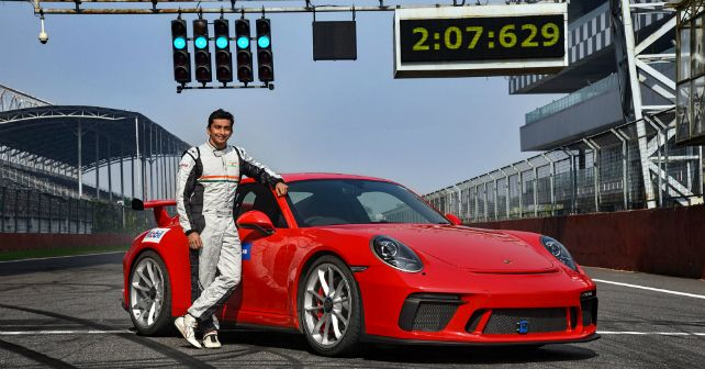 Porsche 911 Gt3 Lap Record Bic India M