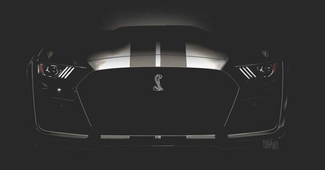 2020 Ford Mustang Shelby GT 500 Teaser Auction Barrett Jackson