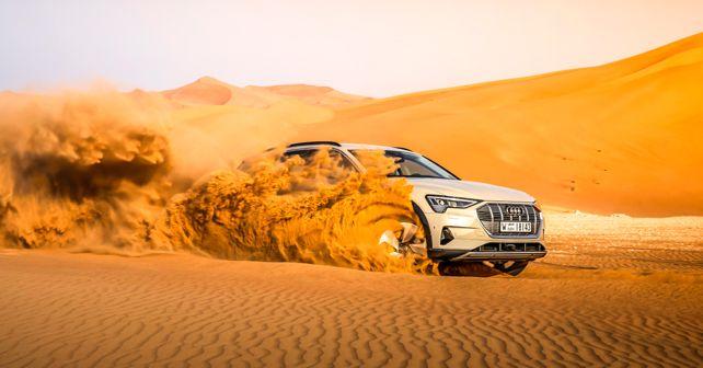 Audi e-tron off-road