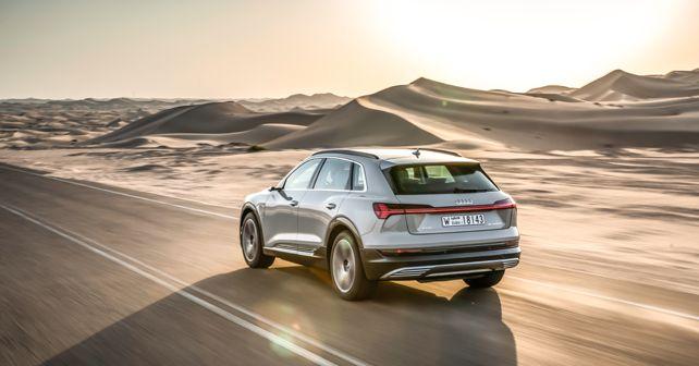 Audi e-tron rear quarter dynamic