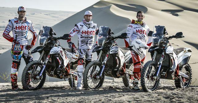 Hero MotorSports Dakar 2019 Riders