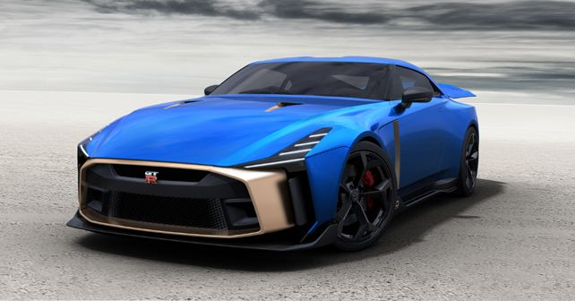 Nissan unveiled the production supercar nearly 1 million euros