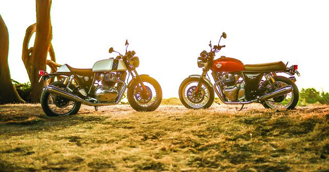 Royal Enfield Interceptor 650 Continental GT 650
