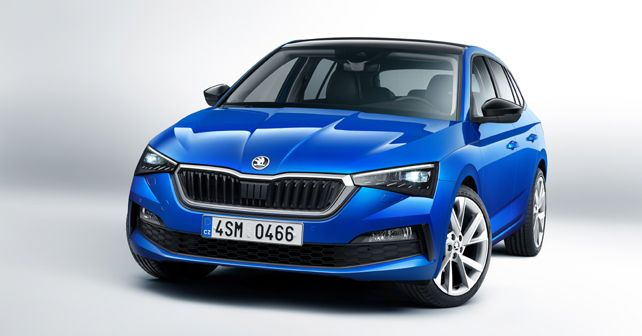 The Czechs introduced the hatchback Skoda Scala