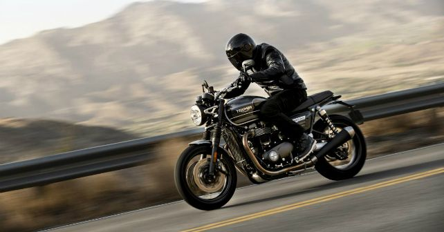 Triumph Speed Twin Unveiled India Bound M