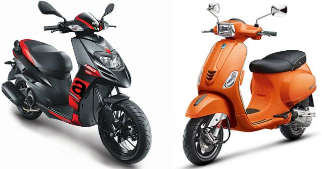 Aprilia Sr15 Race Abs Vespa 125 Cbs Launched M