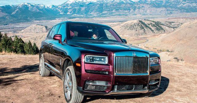 Rolls Royce Cullinan Front Three Quarter Off Road