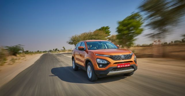 Tata Harrier ACTION Details Revealed M