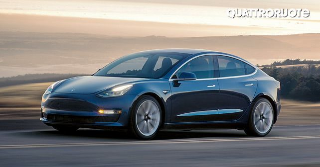 Tesla Model 3 Road Test Action