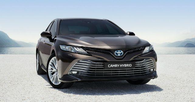 Toyota Camry Hybrid 2019 India Launch M