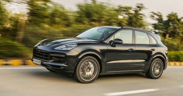 2018 Porsche Cayenne Side Profile