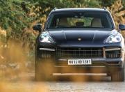 2018 porsche cayenne turbo front