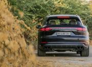 2018 porsche cayenne image turbo rear