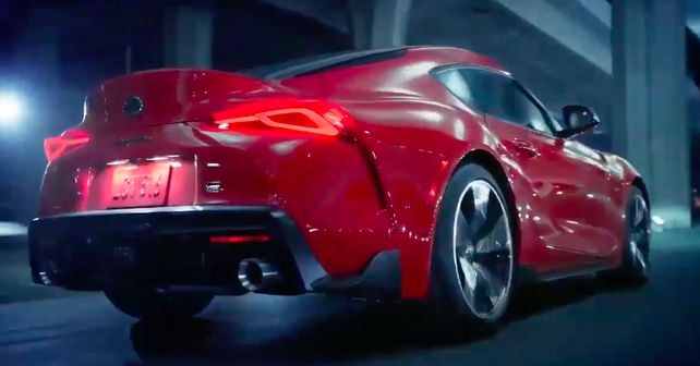 9c39aaa629f 2020 Toyota Supra leaked prior to its unveil - autoX