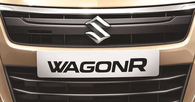 Maruti Suzuki WagonR nameplate
