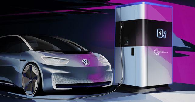 Vw Mobile Charging Station