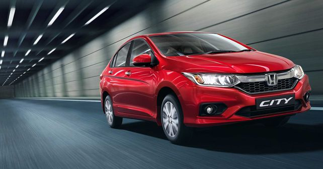 Honda City Radiant Red New Colour