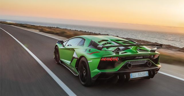 First Lamborghini Aventador Svj Arrives In India Autox