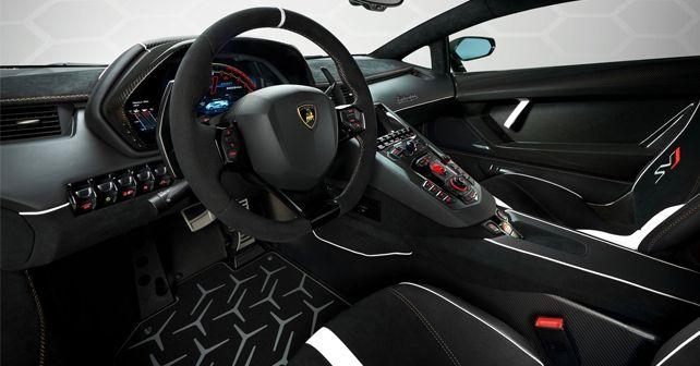 First Lamborghini Aventador Svj Arrives In India Autox