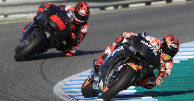 Marquez Lorenzo Winter Test Repsol Honda