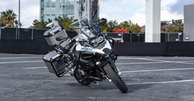 BMW R 1200 GS autonomous bike CES 2019