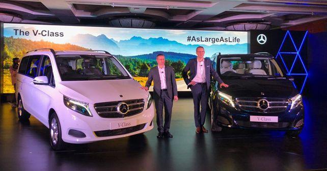 Mercedes-Benz V-Class India launch