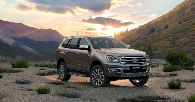 2019 Ford Endeavour Facelift Exterior India M