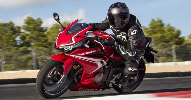 2019 Honda CBR 400R Motion