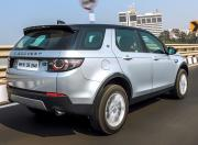 2019 Land Rover Discovery Sport rear angle