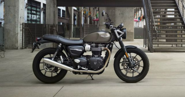2019 Triumph Street Twin India Launch M