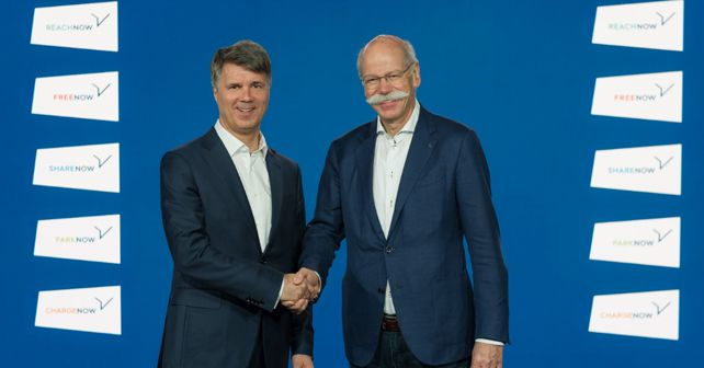 Dieter Zetsche and Haral Kruger