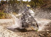 BMW F 850 GS off road water crossing