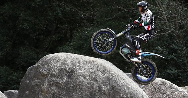 E Trials Bike