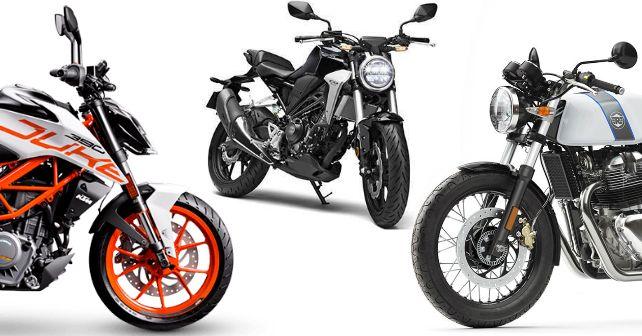 Honda CB300R KTM 390 Duke RE Continental GT650 India Launch Specs M