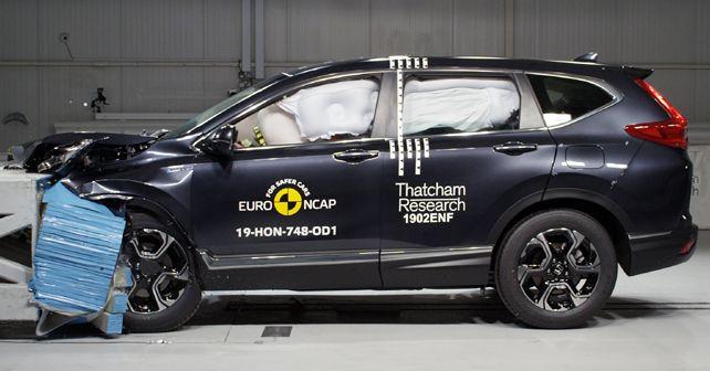 Honda CR V Euro NCAP 1