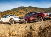 Honda CR V vs Isuzu MU X