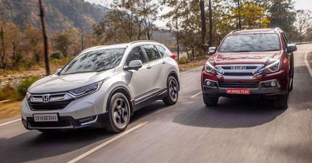 Isuzu MU-X vs Honda CR-V: Comparison - autoX