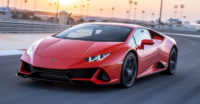 Lamborghini Huracan Evo 2019 Front Motion Dynamic