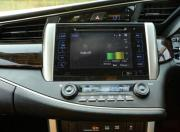 Toyota Innova Crysta touchscreen