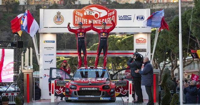 2019 WRC Rallye Monte Carlo Ogier And Ingrassia