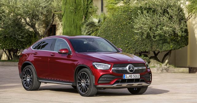 2020 Mercedes Benz GLC Coupe Static