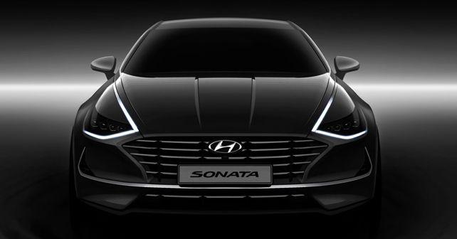 New Hyundai Sonata front teaser