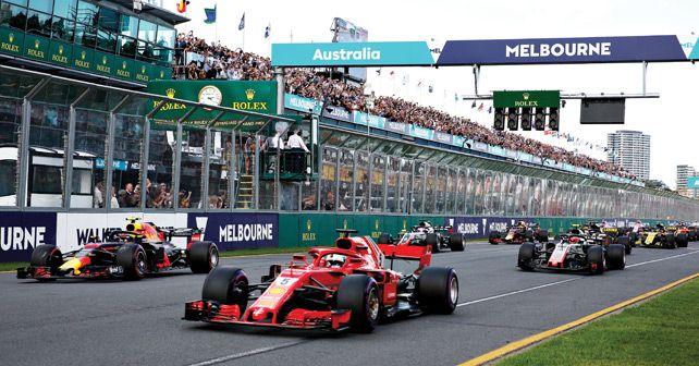 Australia F1 GP Start
